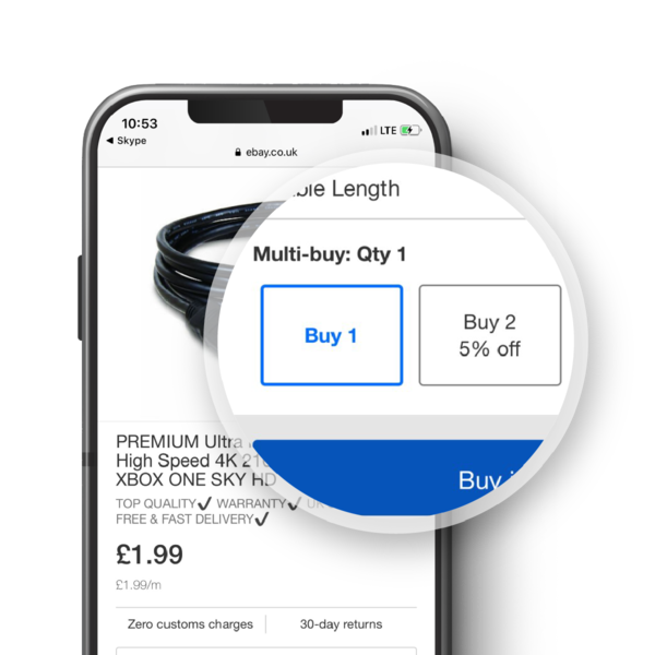 Multi-buy is a tool for all business sellers
