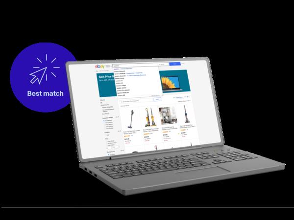 Laptop om specificaties op eBay toe te voegen