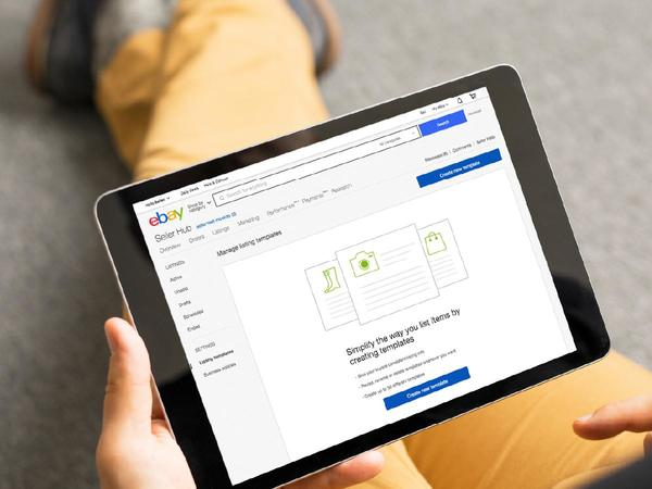 Getting an eBay UK business account