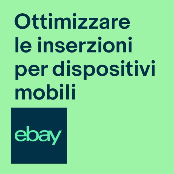 Smartphone con inserzione eBay