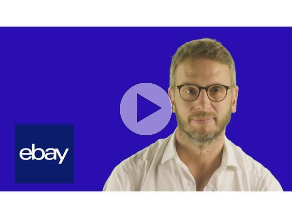 Vice President of eBay UK Murray Lambell