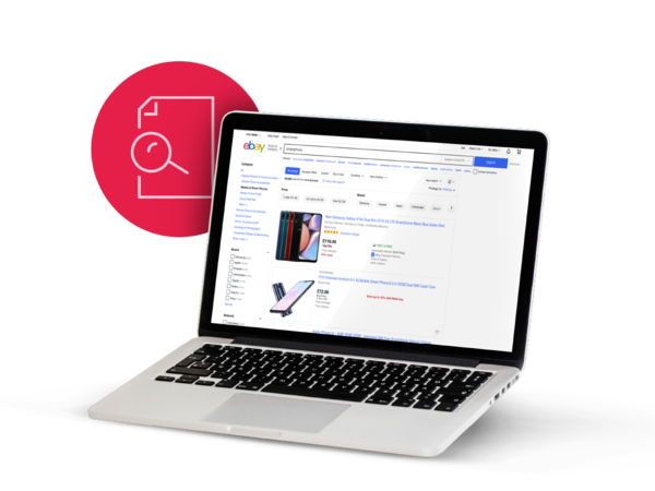Find the eBay tools and listing features