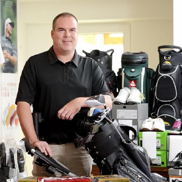 eBay-Verkäufer mit Sportequipment