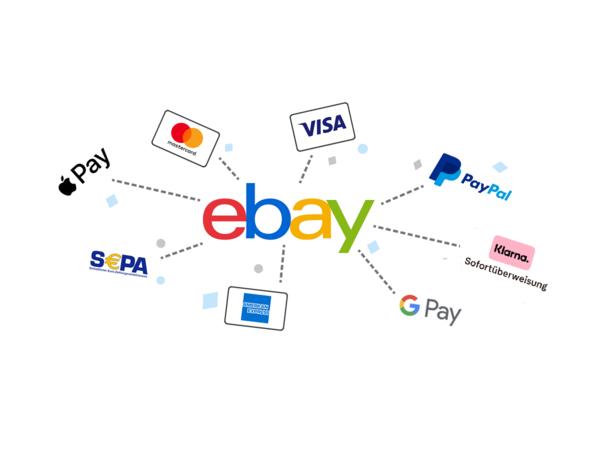 Zahlungsmethoden bei eBay
