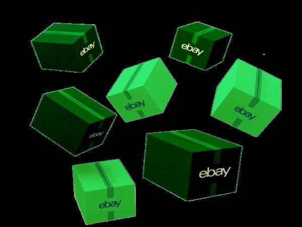 Pacchi verdi eBay