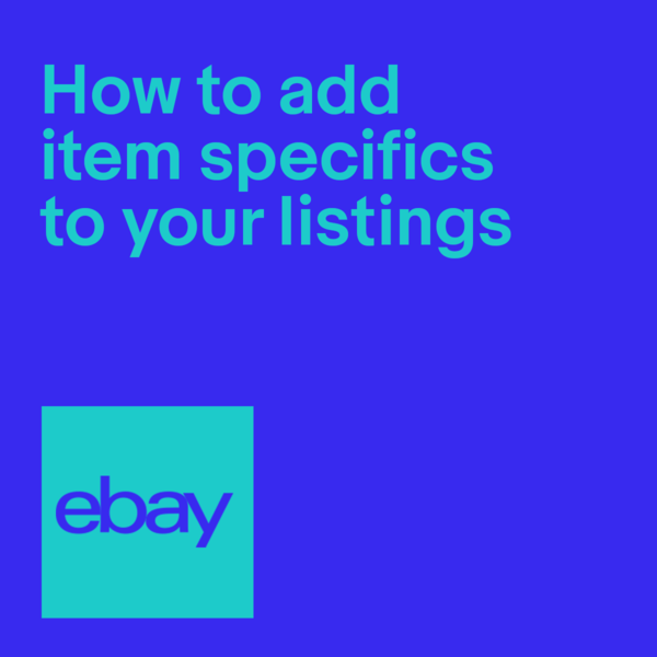 Item specifics crucial to your listings