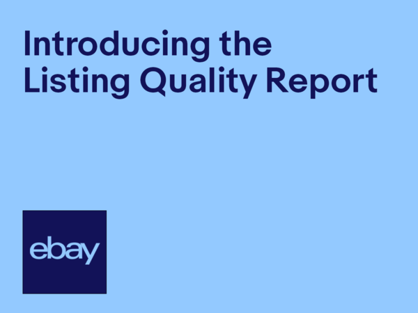 video introducing the Listing Quality Report