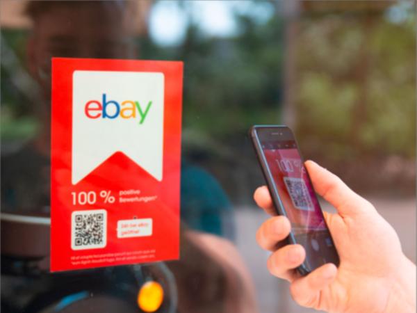eBay Shoplabel